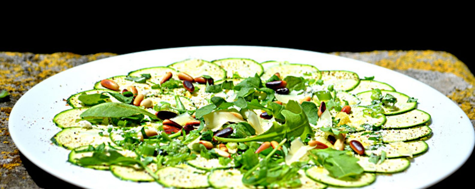 carpaccio courgettes 2